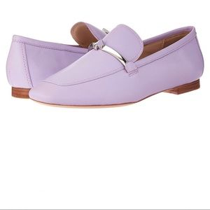 🆕 Kate Spade lavender Lilac leather flats loafers